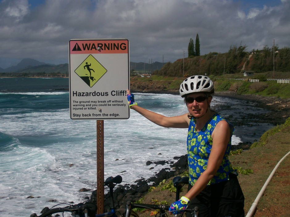 Riding in Hawaii