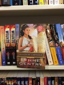 Spotted on a bookstore shelf in Tennessee. (From Author Lynne Gentry's Facebook page