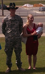 Eric and family before the ceremony