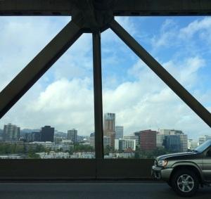 City from bridge