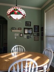 Breakfast room & family photo fest