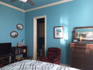 """Beach Room"" or ""Blue Room,"" for guests"